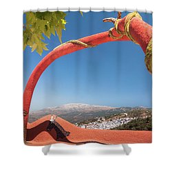 La Maroma Shower Curtain