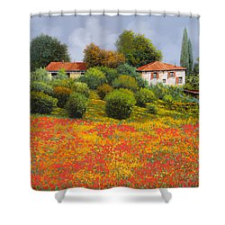 La Nuova Estate Shower Curtain by Guido Borelli