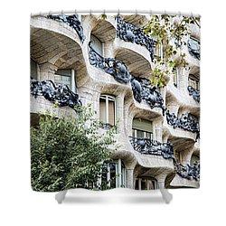La Pedrera Casa Mila Gaudi  Shower Curtain
