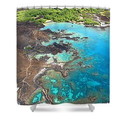 La Perouse Bay Shower Curtain by Ron Dahlquist - Printscapes