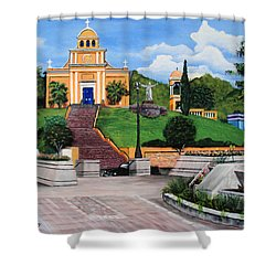 La Plaza De Moca Shower Curtain