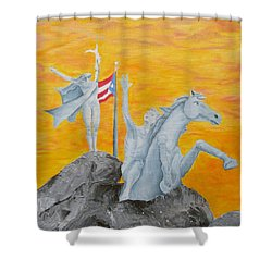 La Princesa Shower Curtain