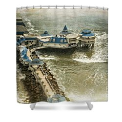 Shower Curtain featuring the photograph La Rosa Nautica - Peru by Mary Machare