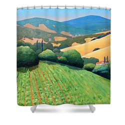 La Rusticana Revisited Shower Curtain