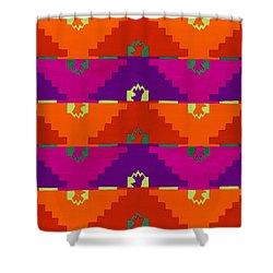 La Union Hace La Fuerza Shower Curtain by Roberto Valdes Sanchez