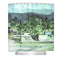 La Vela Shower Curtain