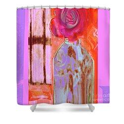 La Vie En Rose  1 Shower Curtain