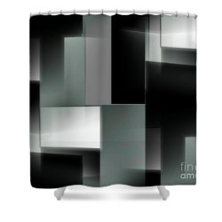 la Ville Sombre Shower Curtain