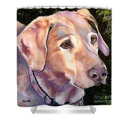 Lab One Of A Kind Shower Curtain