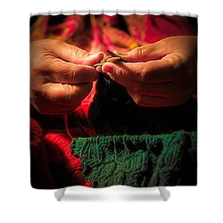 Labor Of Love Shower Curtain