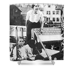Labor Strike, 1912 Shower Curtain by Granger