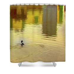 Labyrinthine #d7 Shower Curtain