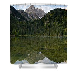 Lac Des Plagnes Shower Curtain