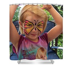 Lacey The Butterfly Shower Curtain