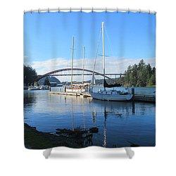 Laconner Washington Shower Curtain