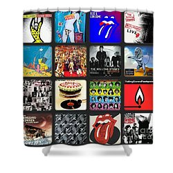 Ladies And Gentlmen The Rolling Stones Shower Curtain