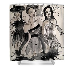Ladies Galore Shower Curtain