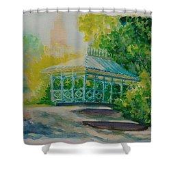 Ladies Pavilion, Cpnyc Shower Curtain
