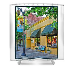 Lady C Storefront-sylvania Shower Curtain