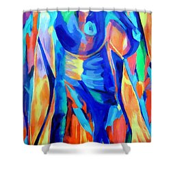 Lady Challenge Shower Curtain