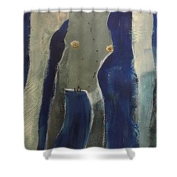 Lady Long Arms Shower Curtain