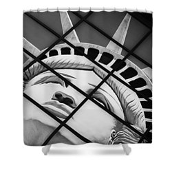 Lady Of The House Shower Curtain by Bobby Villapando
