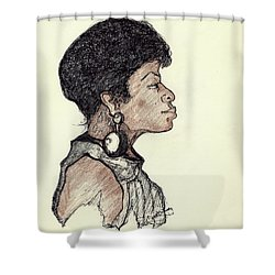 Lady Pride Shower Curtain