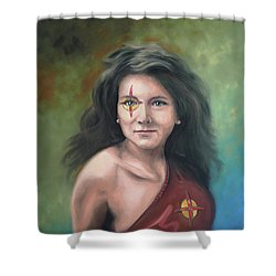 Lady Starr Shower Curtain
