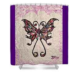 Lady T Shower Curtain