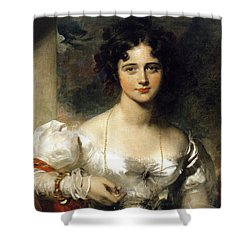 Lady Shower Curtain by Thomas Lawrence