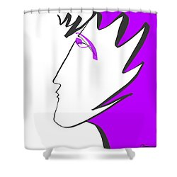Ladyfingers Shower Curtain