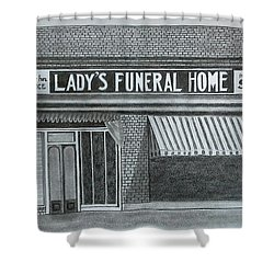 Lady's 1934 Shower Curtain