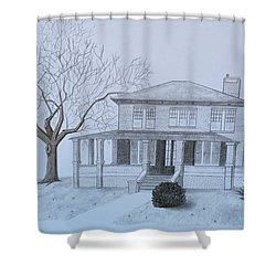 Lady's 1950 Shower Curtain