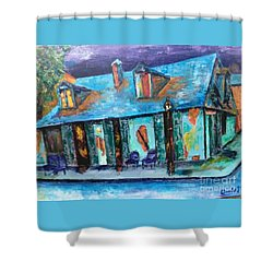 Lafitte's Shower Curtain
