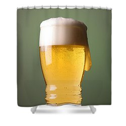Lager Beer Shower Curtain