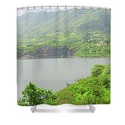 Lago Toa Vaca Shower Curtain