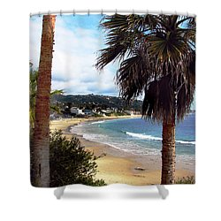 Shower Curtain featuring the photograph Laguna Beach 2 by Joanne Coyle