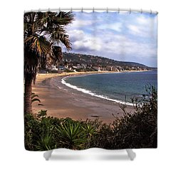 Shower Curtain featuring the photograph Laguna Beach by Joanne Coyle