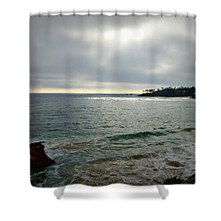 Laguna Beach Sunset Shower Curtain