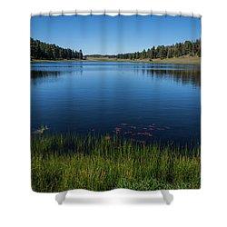 Laguna Meadow Lake Shower Curtain
