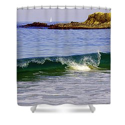 Laguna Sailing Shower Curtain