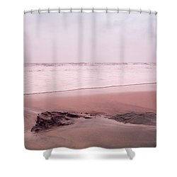 Shower Curtain featuring the photograph Laguna Shores Memories by Heidi Hermes