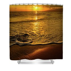 Lahaina Glow Shower Curtain