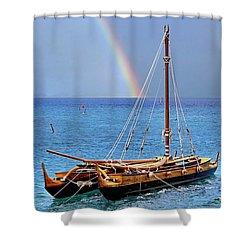 Lahaina Harbor Shower Curtain