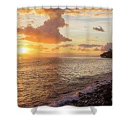 Lahaina Sunset Shower Curtain