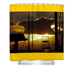 Lahaina Sunsets 5 Shower Curtain