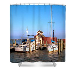Shower Curtain featuring the photograph Laid Back by Marion Johnson
