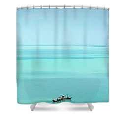 Lake Balaton Shower Curtain