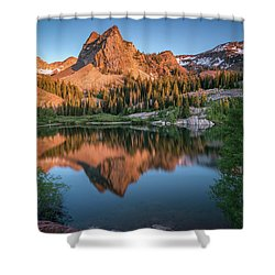 Lake Blanche At Sunset Shower Curtain