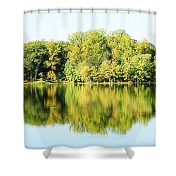 Lake Briddle Shower Curtain